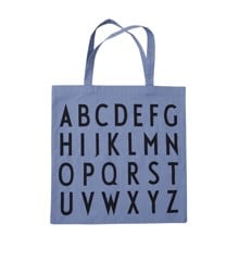 Design Letters - Farvorite Tote Bag - ABC Blue (10502001BLUEABC)