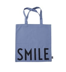 Design Letters - Farvorite Tote Bag - Smile Purple (10502001BLUESMILE)