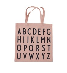 Design Letters - Farvorite Shoppingtaske - ABC Rose