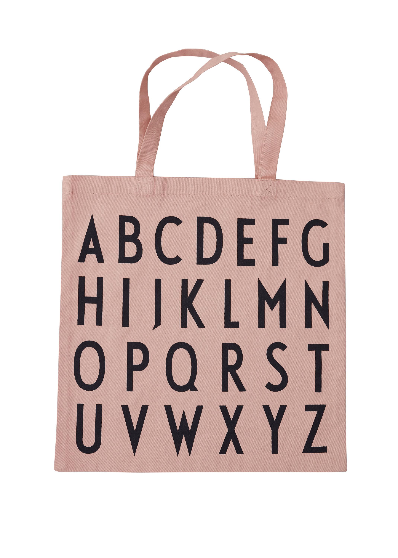 Design Letters - Farvorite Tote Bag - ABC Nude (10502001NUDEABC)