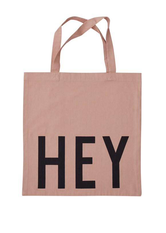 Design Letters - Farvorite Tote Bag - Hey Nude (10502001NUDEHEY)