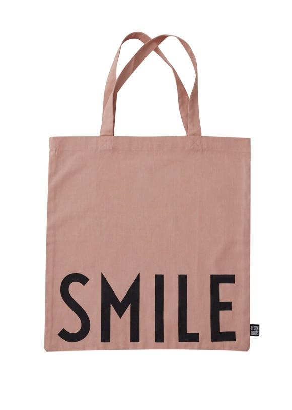 Design Letters - Farvorite Tote Bag - Smile Nude (10502001NUDESMILE)
