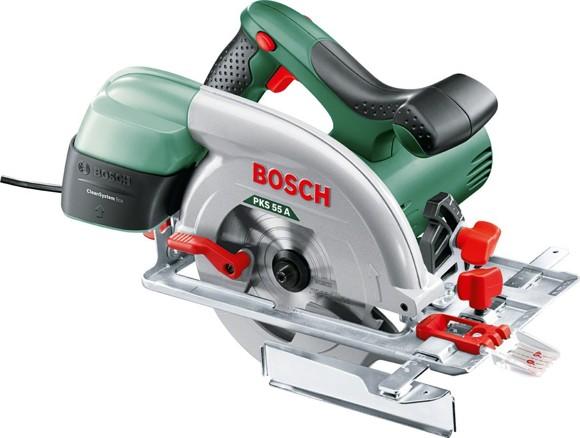 Bosch - PKS 55 A Circular Saw 1200W 230v