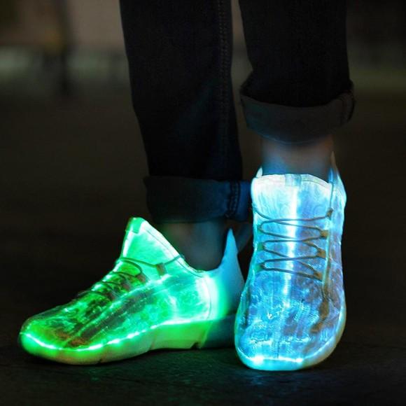 Led Shoes - Fibre Optic - Size 28 (04899.28)
