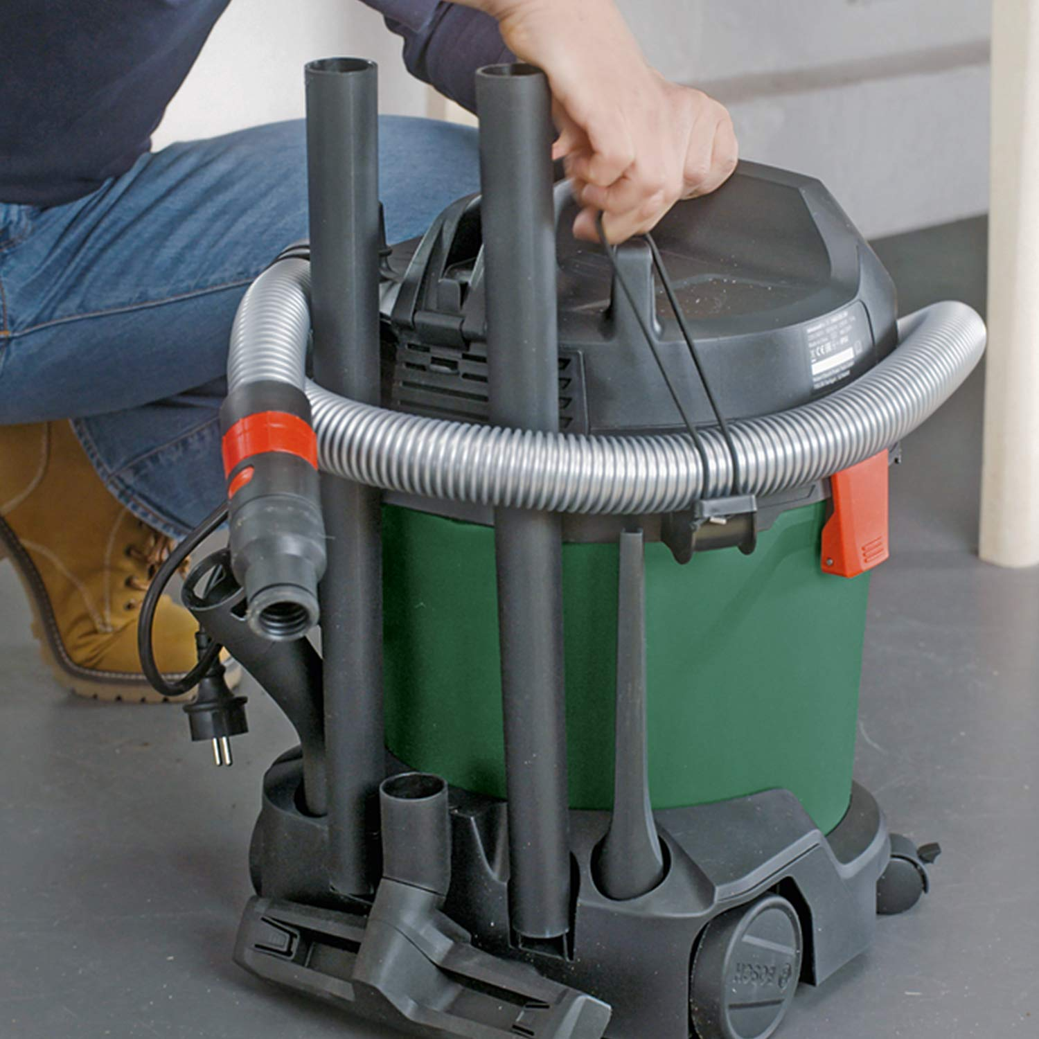 Bosch Advanced Vac 20 Wet And Dry Vacuum Cleaner 230v