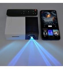 Mini Projektor - Op til 60 Tommer