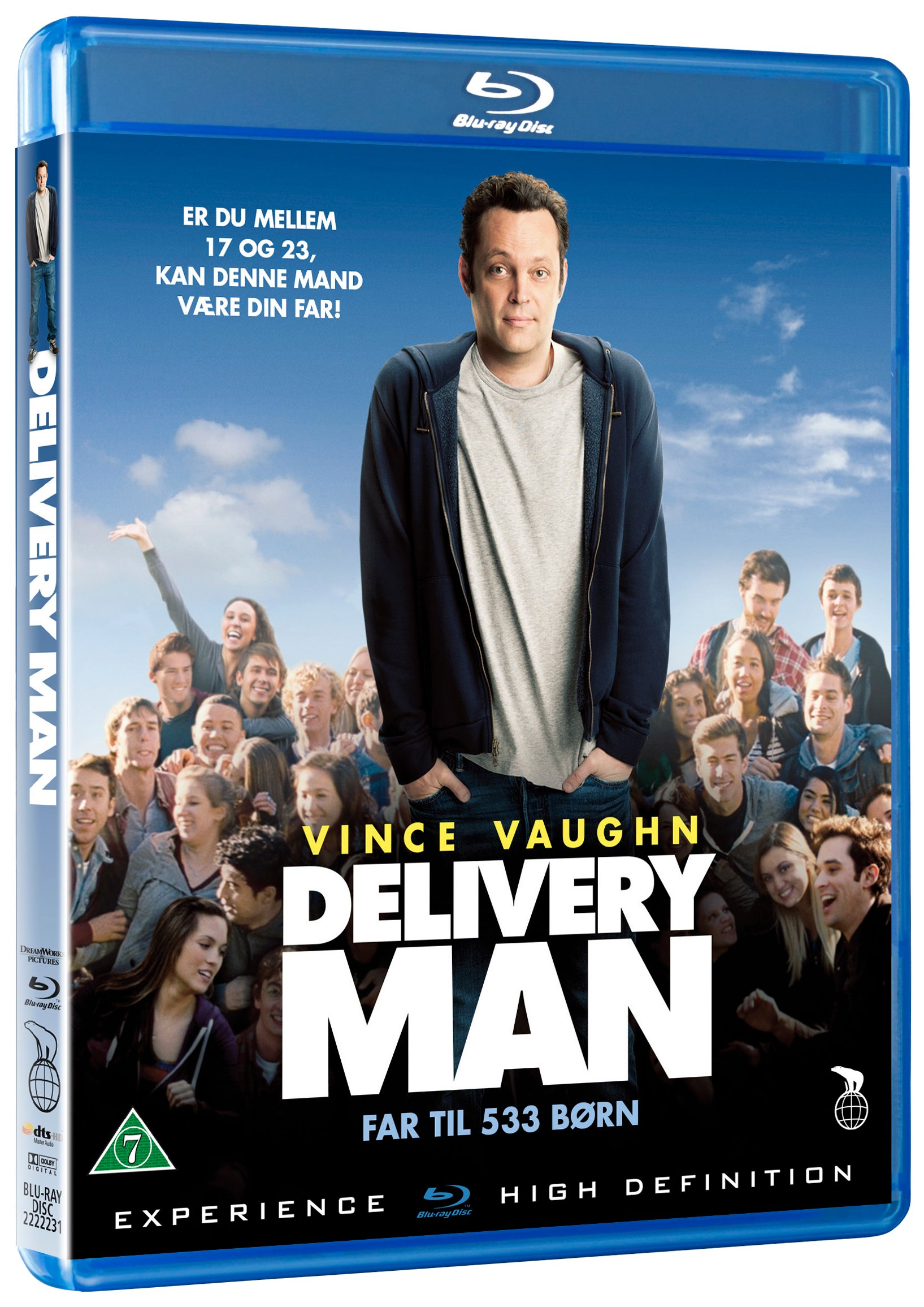 The Delivery Man- Blu Ray