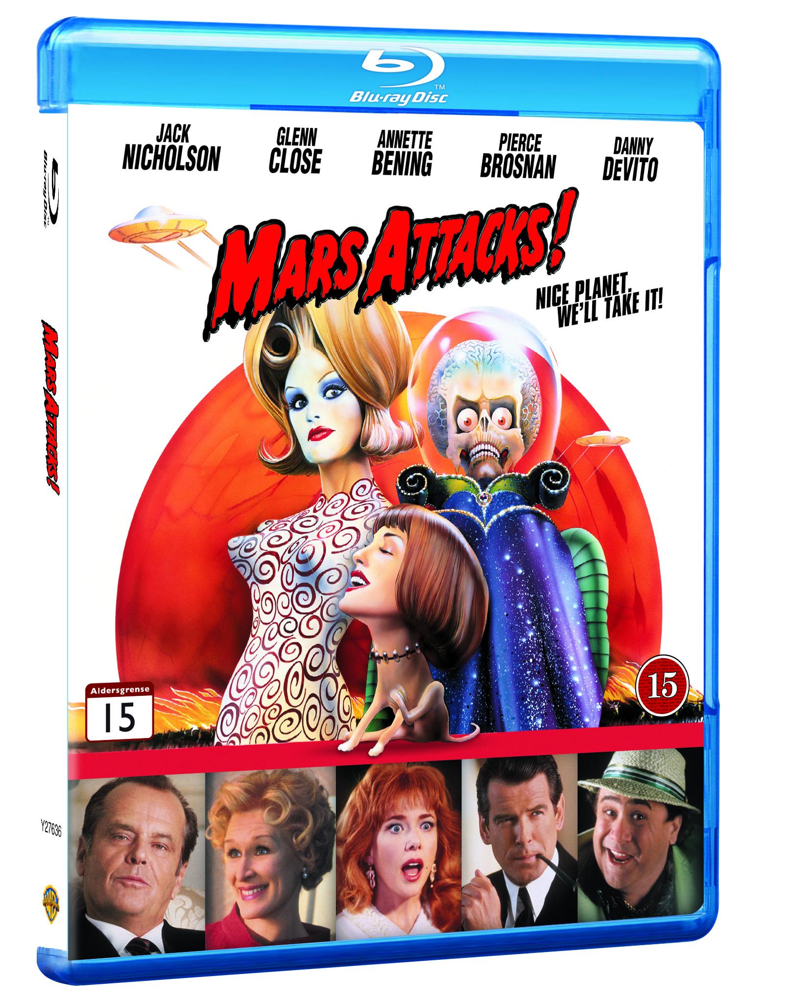 Mars Attacks! - Blu Ray
