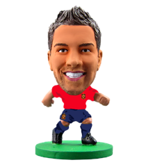 Soccerstarz - Spain Jordi Alba - Home Kit