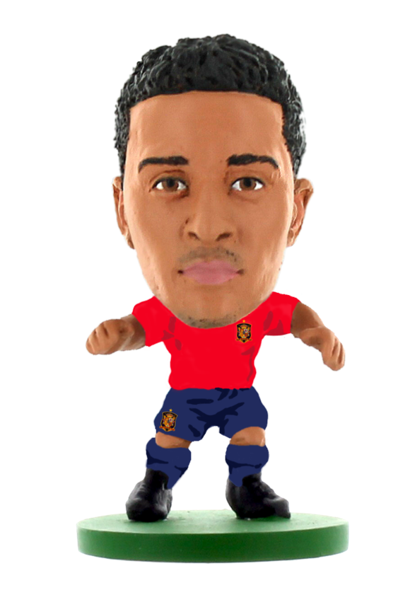 Soccerstarz - Spain Thiago Alcantara (NEW SCULPT) - Home Kit