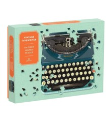 Mudpuppy - Puslespil 750 brikker - Vintage skrivemaskine (M57464)