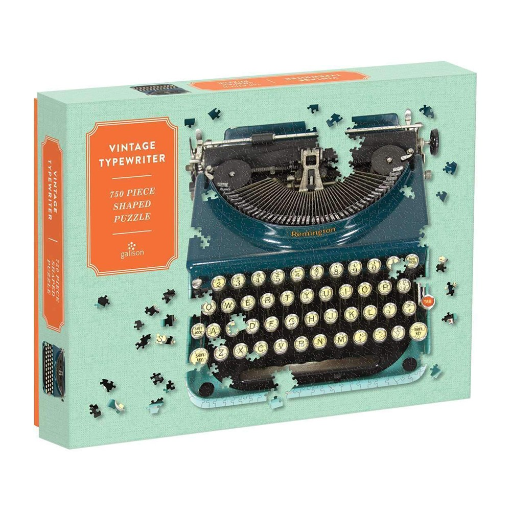 Mudpuppy - Puzzle - Vintage Typewriter, 750 pc (M57464)
