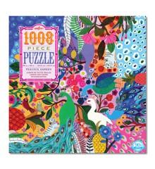 eeBoo - Puzzle - Peacock Garden, 1008 pc (EPZTPCG)