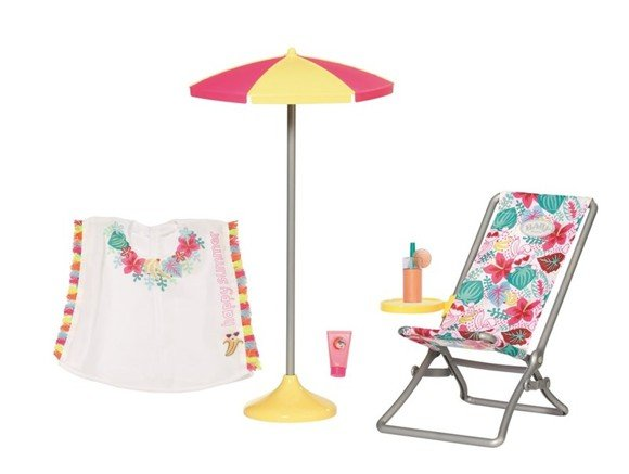 Baby Born - Holiday Deckchair Set 43cm (829264)