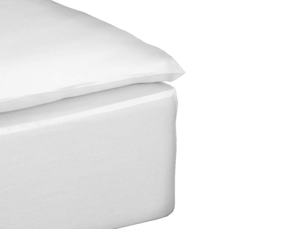 Södahl - Comfort Box Sheet 90 x 200 x 30 cm - White (724043)