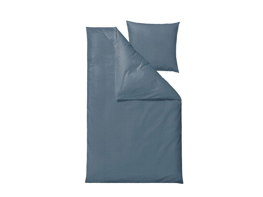 Södahl - Edge Bedding 140 x 200 cm - China Blue (727821)