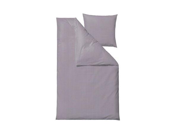 Södahl - Edge Bedding 140 x 200 cm - Dark Lavender (727453)