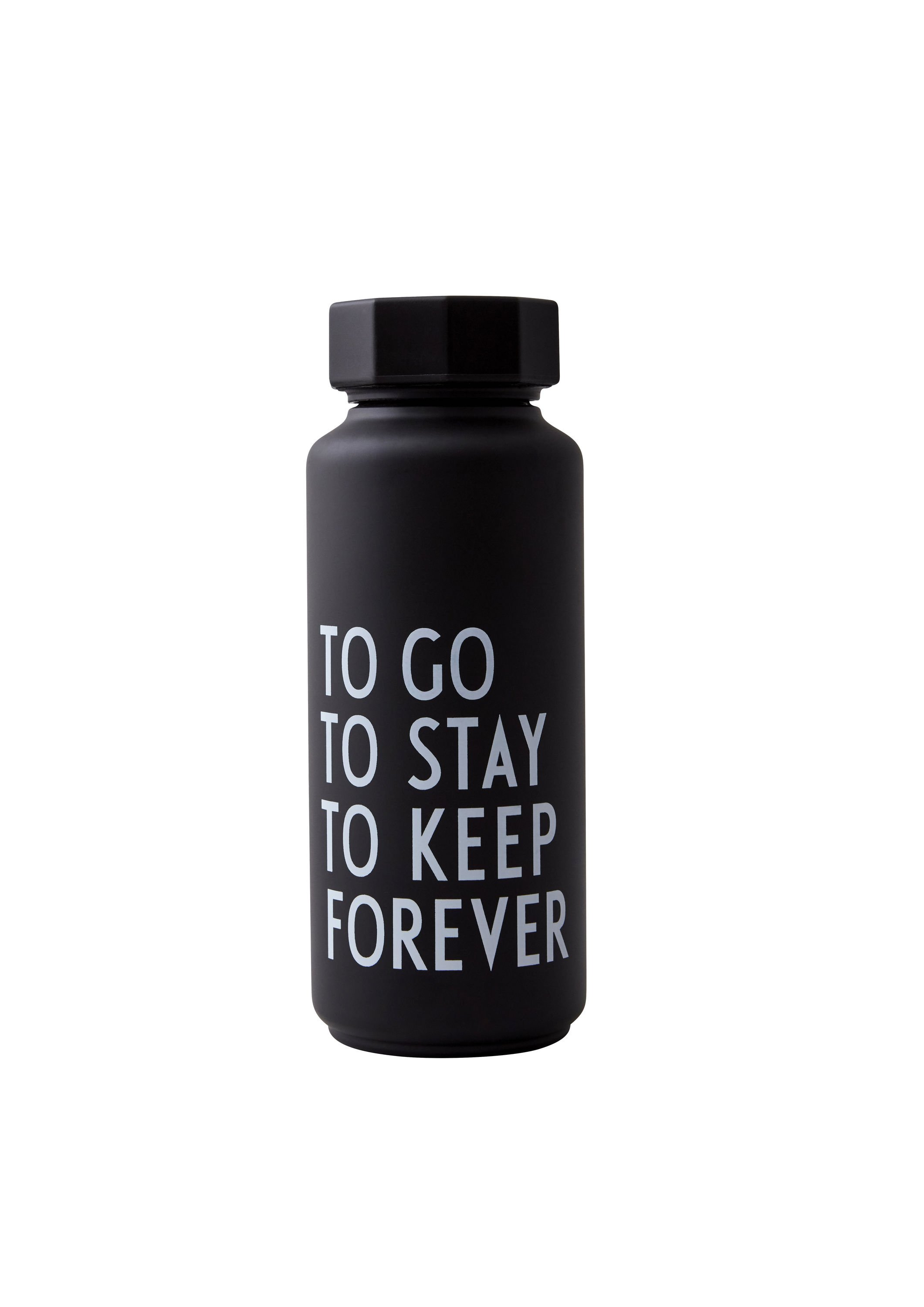 Design Letters - Thermo/Insulated Bottle Special Edition - Black (30100105BLKTOGOTO)