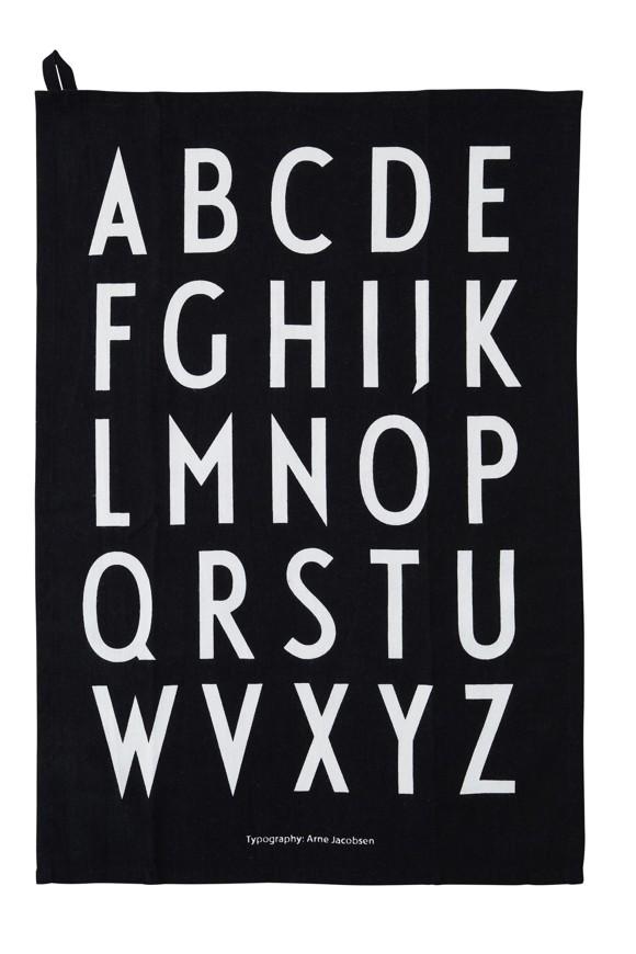 Design Letters - Classic Visestykke - Sort