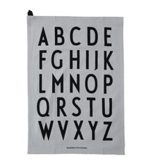 Design Letters - Classic Tea Towel - Grey (10503000GREY)