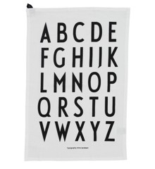 Design Letters - Classic Tea Towel - White (10503000WHITE)