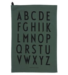 Design Letters - Classic Tea Towel - Dark Green (10503000DARKGREEN)