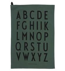 Design Letters - Classic Visestykke - Mørkegrøn