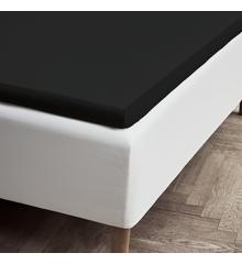 Juna - Percale Kuvertlagen 180 x 200 x 4/8 cm - Sort