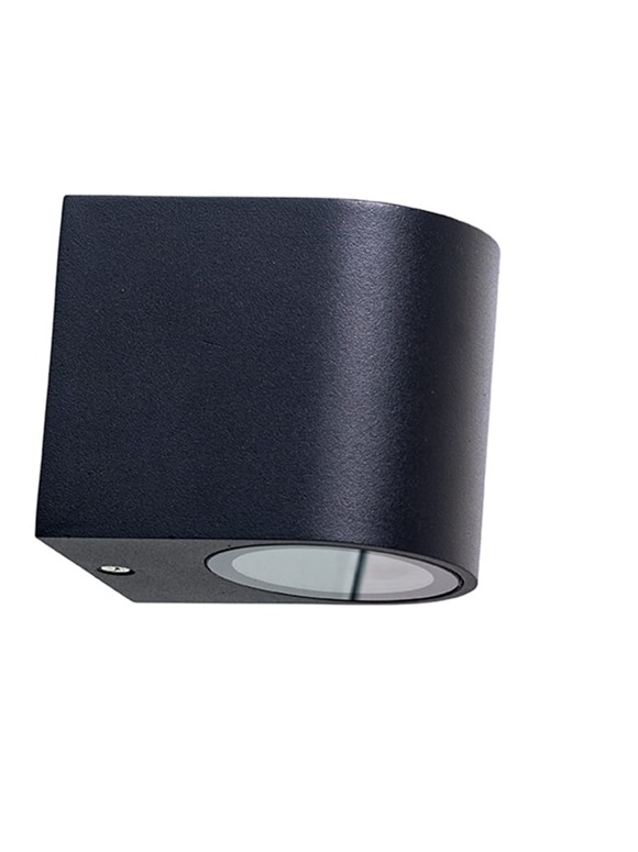 Dyberg Larsen - Læsø Down Wall Lamp - Matt Black (1000)