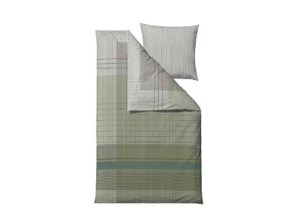 Södahl - Fine Lines Sengetøj 140 x 200 cm - Tea Grøn