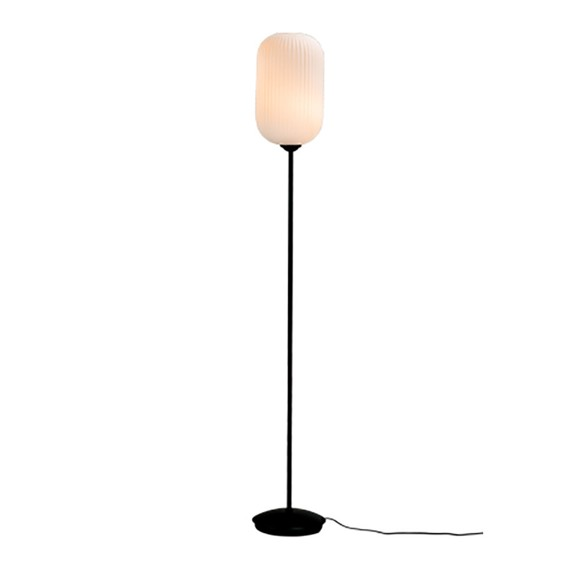 Dyberg Larsen - Riflet Floor Lamp - Opal (7104)