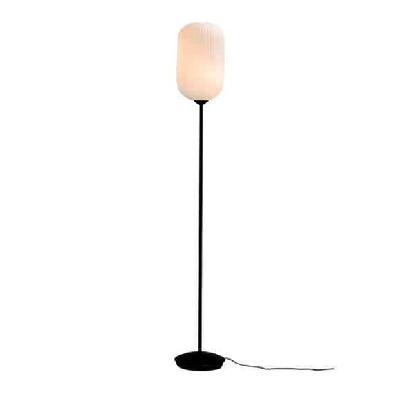 Dyberg-Larsen - Riflet Gulvlampe - Opal