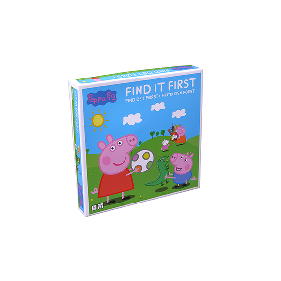 Barbo Toys - Peppa Pig - Who Finds it First (8978)