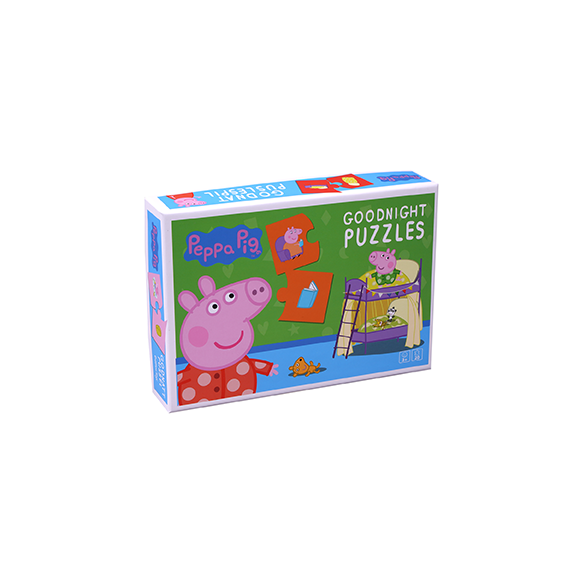 Barbo Toys - Peppa Pig - Goodnight Puzzel (8977)