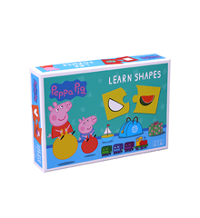 Barbo Toys - Peppa Pig - Learn Shapes (8975)