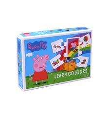 Barbo Toys - Gurli Gris - Lær farver