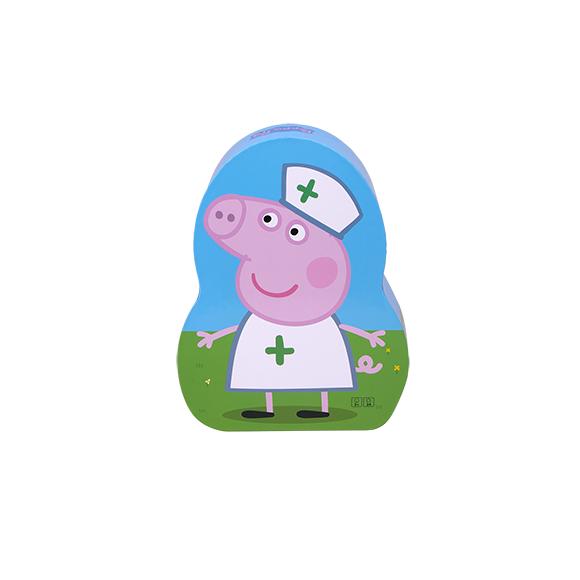 Barbo Toys - Gurli Gris  Puslespil - Sygeplejeske (24 brk)
