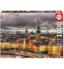Educa - Puzzle 1000 - Views of Stockholm (017664)