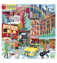 eeBoo - Puslespil - New York Life, 1000 brikker (EPZTNYL)