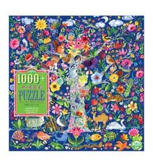 eeBoo - Puslespil - Tree of Life, 1000 brikker (EPZTTOL)