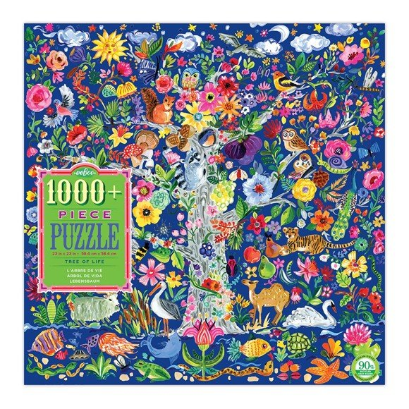 eeBoo - Puzzle - Tree of Life, 1000 pc (EPZTTOL)
