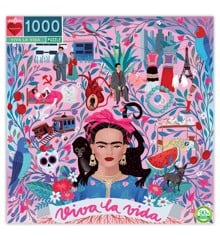 eeBoo - Puslespil 1000 brikker - Viva la Vida (EPZTVLV)