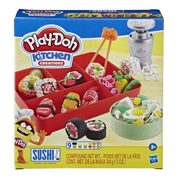 Play Doh - Sushi Playset (E7915)