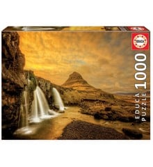 Educa - Puzzle 1000 - Kirkjufellsfoss Waterfall, Iceland (017971)