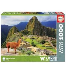Educa - Puslespil 1000 brikker - Machu Picchu, Peru