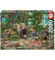 Educa - Puzzle 2000 - African Jungle (016013)