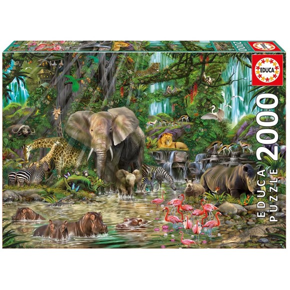 Educa - Puzzle 2000 - African Jungle (016013)