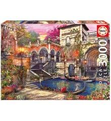 Educa - Puzzle 3000 - Venice Courtship ( 018012)