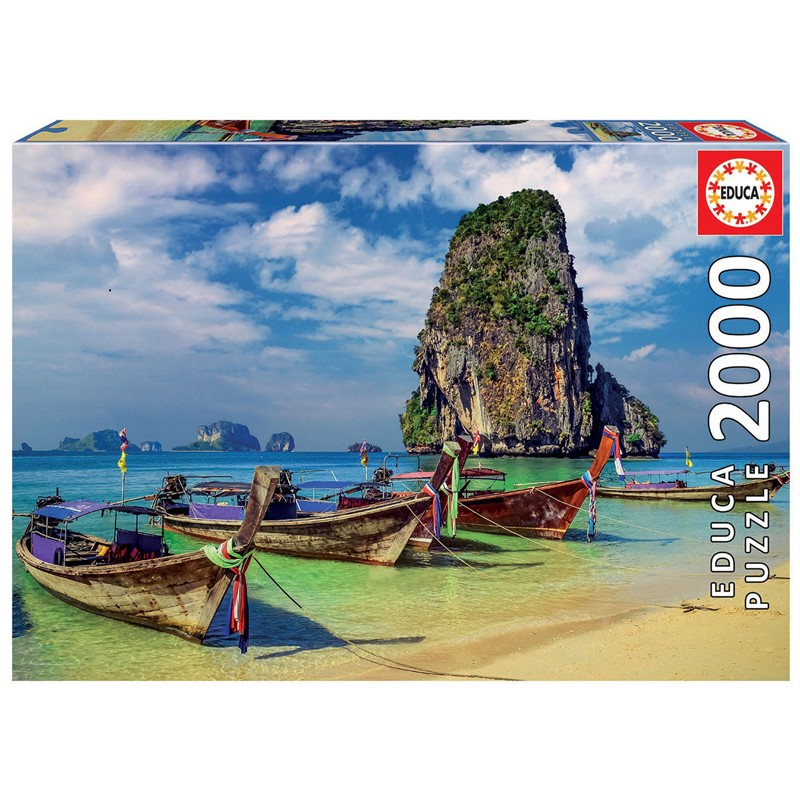 Educa - Puzzle 2000 - Krabi, Thailand ( 018007)