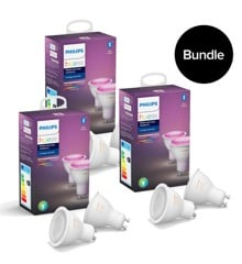 Philips Hue - 3xGU10 2-Pack - Color Ambiance - Bluetooth - Bundle